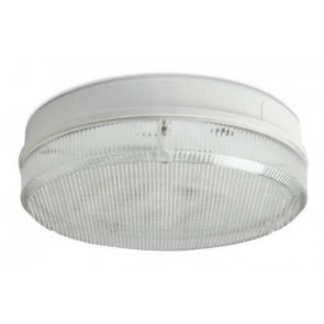 Robus RC282DEP-01 COMPACT 28W 2D Emergency Surface Fitting (Prismatic diffuser, White Base)