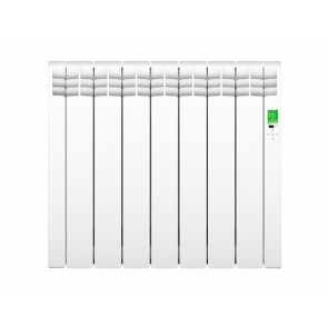 Rointe Delta Ultimate DIW0770RAD 770W 230V Digital Electric 7 Elements Radiator 585mm x 675mm x 97mm White