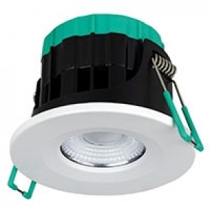 Robus RUL070WIFI-01 Ultimum Connect 7W IP65 WIFI Tunable Fire Rated Downlight with White Trim - Buy online from Sparkshop