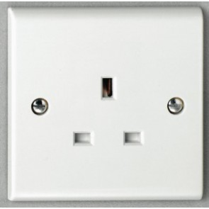Deta S1206 13A 1 gang Unswitched Socket