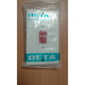 Deta S1301 45A DP Tall Red Switch