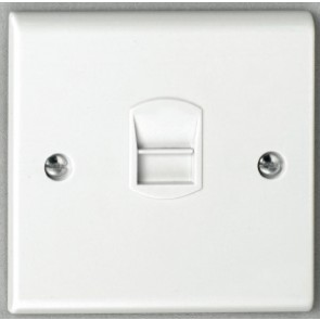 Deta S1352 Single Master Telephone Outlet