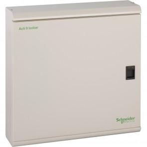 Schneider SEA9BN4 250A- 400/415 V - 4 ways - IP31 - RAL 9001 Acti 9 Isobar B Distribution Board - Buy online from Sparkshop