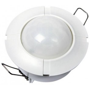 Timeguard SLFM360L Controller, Security Light Ceiling Flush, c/w PIR IP44, size: 2000W 6m 360Deg