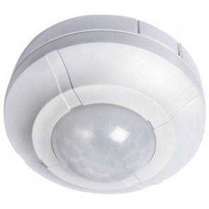 Timeguard SLW360L Controller, Security Light Ceiling Surface, c/w PIR IP44, size: 2000W 6m 360Deg