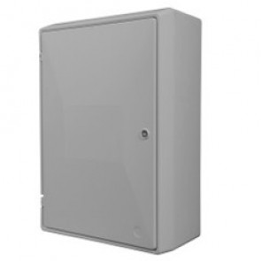 UK Standard Electrical Meter Box - Surface/Wall Mounted - suitable for a single phase domestic electric meter.