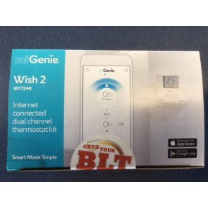 Drayton Controls DRMT724R9K0900 Heating Control, miGenie Wish 2 Dual Channel Smart