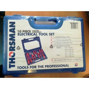 Thorsman 1773157 10 Piece Electrical Tool Kit