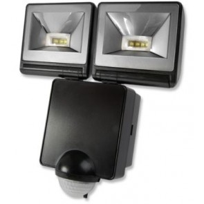 Timeguard LED200PIRB 2x 8W LED Energy Saver PIR Floodlight - Black