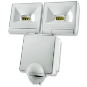 Timeguard LED200PIRWH 2x 8W LED Energy Saver PIR Floodlight - White