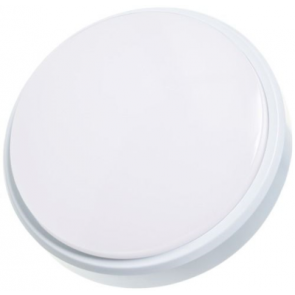 Timeguard LEDSR12WH 12W Slimline LED Energy Saver IP54 Round Wall/Ceiling Light IP54 White