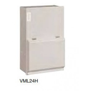 Hager VML24H, Garage Board, 2 Way 40A 30mA RCCB with 1x32A & 1x6A MCB