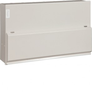 Hager VML766H 12 Way Split Load 6+6 100A MS 2x63A 30mA RCCB Consumer Unit