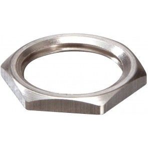 Wiska 10063147 EMMU 50 Nickel Plated Brass Locknut 50mm