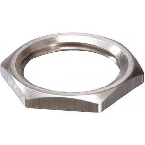Wiska 10063143 EMMU 20 Nickel Plated Brass Locknut 20mm