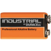 Duracell Industrial ID1604 9V PP3 Alkaline Battery