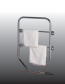 Dimplex TTRC150 100W Water Glycol Filled Electric Towel Rail Chrome