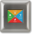 Heat Mat NGT-2.0-SILV 16A NGTouch Colour Touchscreen Thermostat Silver