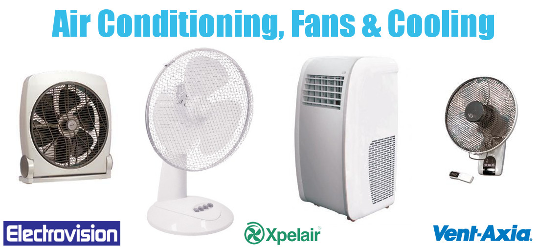 Air Conditioning, Fans and Cooling